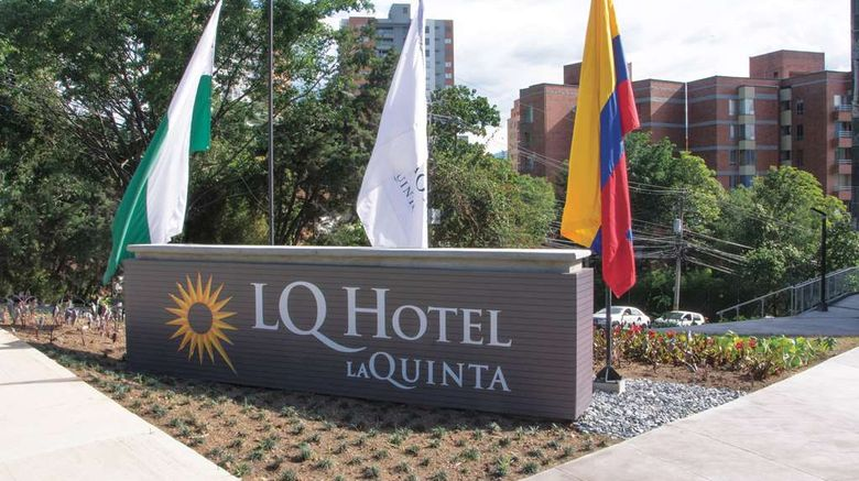 """La Quinta by Wyndham Medellin Exterior. Images powered by <a href=""""http://web.iceportal.com"""" target=""""_blank"""" rel=""""noopener"""">Ice Portal</a>."""