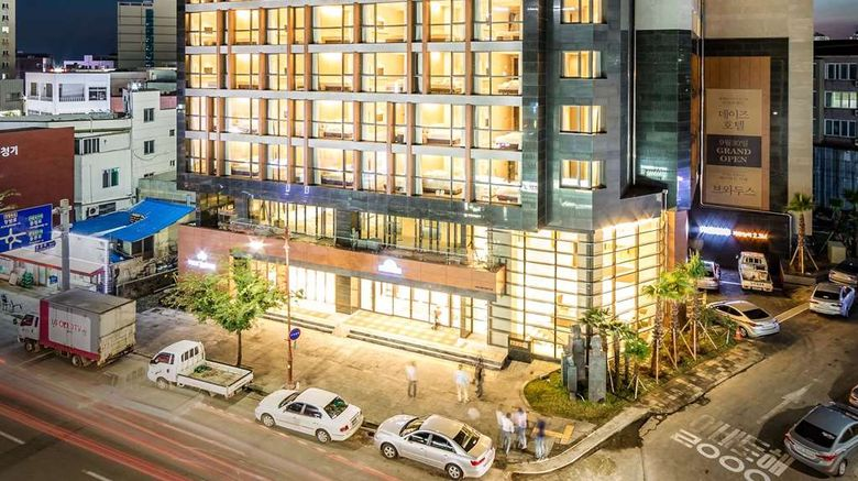 """Days Hotel Jeju Seogwipo Ocean Exterior. Images powered by <a href=""""http://web.iceportal.com"""" target=""""_blank"""" rel=""""noopener"""">Ice Portal</a>."""