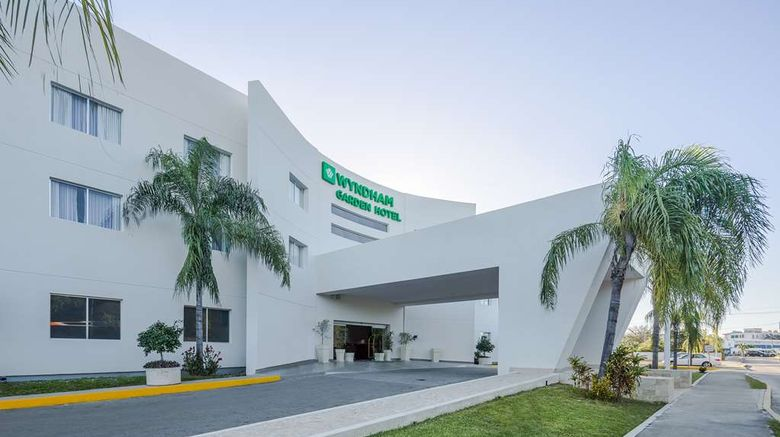"""Wyndham Garden Playa del Carmen Exterior. Images powered by <a href=""""http://web.iceportal.com"""" target=""""_blank"""" rel=""""noopener"""">Ice Portal</a>."""