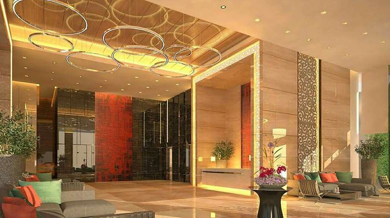 """Melia Makassar Lobby. Images powered by <a href=""""http://web.iceportal.com"""" target=""""_blank"""" rel=""""noopener"""">Ice Portal</a>."""