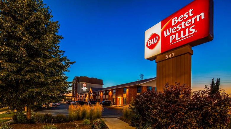"""Best Western Plus Waterloo Exterior. Images powered by <a href=""""http://web.iceportal.com"""" target=""""_blank"""" rel=""""noopener"""">Ice Portal</a>."""