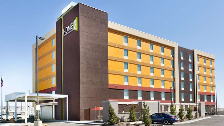 """Home2 Suites by Hilton El Paso Airport Exterior. Images powered by <a href=""""http://web.iceportal.com"""" target=""""_blank"""" rel=""""noopener"""">Ice Portal</a>."""