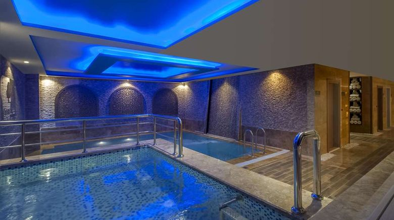 """<b>DoubleTree by Hilton Hotel Elazig Pool</b>. Images powered by <a href=""""https://iceportal.shijigroup.com/"""" title=""""IcePortal"""" target=""""_blank"""">IcePortal</a>."""