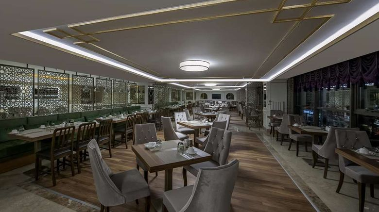 """<b>DoubleTree by Hilton Hotel Elazig Restaurant</b>. Images powered by <a href=""""https://iceportal.shijigroup.com/"""" title=""""IcePortal"""" target=""""_blank"""">IcePortal</a>."""