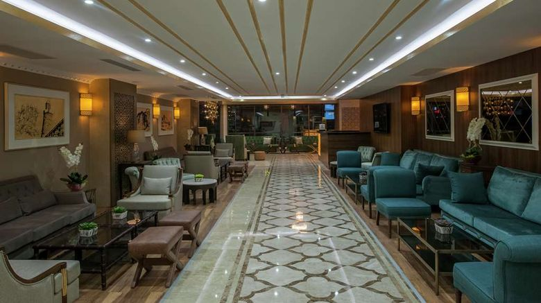 """<b>DoubleTree by Hilton Hotel Elazig Lobby</b>. Images powered by <a href=""""https://iceportal.shijigroup.com/"""" title=""""IcePortal"""" target=""""_blank"""">IcePortal</a>."""