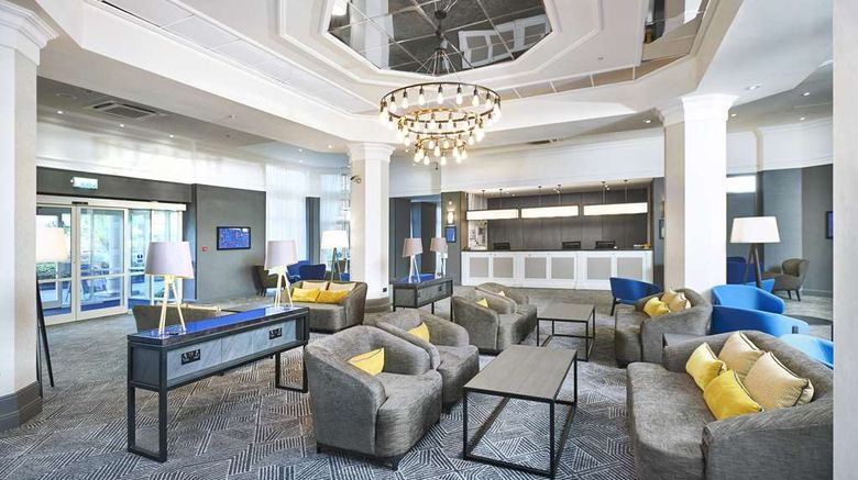 """DoubleTree by Hilton Dartford Bridge Lobby. Images powered by <a href=""""http://web.iceportal.com"""" target=""""_blank"""" rel=""""noopener"""">Ice Portal</a>."""