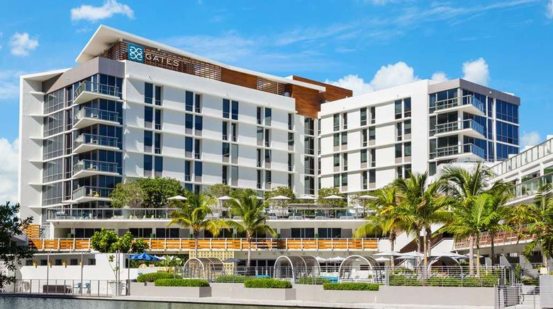 """Gates Hotel South Beach - DoubleTree Exterior. Images powered by <a href=""""http://web.iceportal.com"""" target=""""_blank"""" rel=""""noopener"""">Ice Portal</a>."""