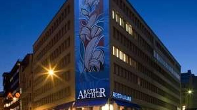 """Arthur Hotel Exterior. Images powered by <a href=""""http://web.iceportal.com"""" target=""""_blank"""" rel=""""noopener"""">Ice Portal</a>."""