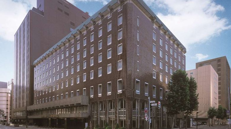 """Sapporo Grand Hotel Exterior. Images powered by <a href=""""http://web.iceportal.com"""" target=""""_blank"""" rel=""""noopener"""">Ice Portal</a>."""