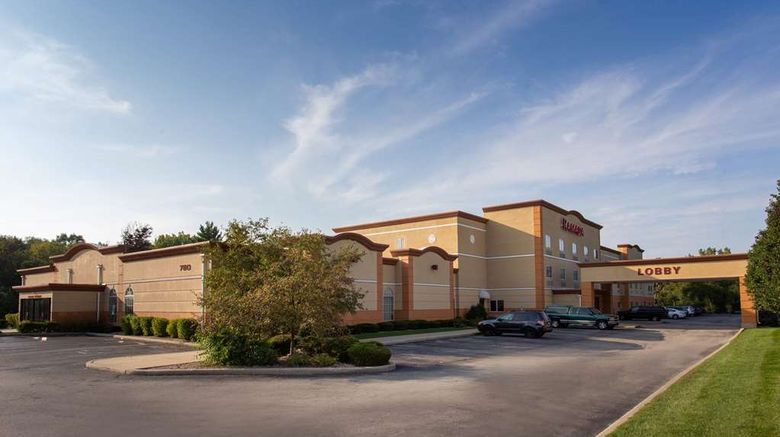 """Ramada Glendale Heights Addison Area Exterior. Images powered by <a href=""""http://web.iceportal.com"""" target=""""_blank"""" rel=""""noopener"""">Ice Portal</a>."""