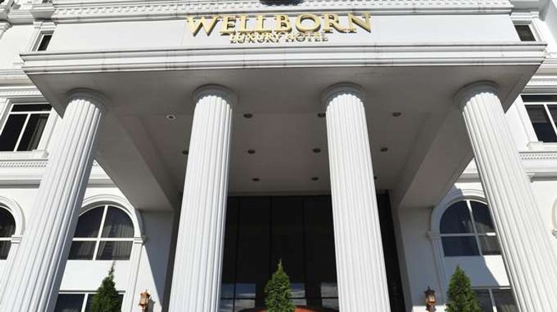 """Wellborn Luxury Hotel Exterior. Images powered by <a href=""""http://web.iceportal.com"""" target=""""_blank"""" rel=""""noopener"""">Ice Portal</a>."""