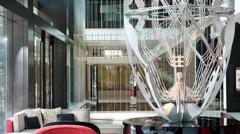"""Crown Promenade Hotel Lobby. Images powered by <a href=""""http://web.iceportal.com"""" target=""""_blank"""" rel=""""noopener"""">Ice Portal</a>."""