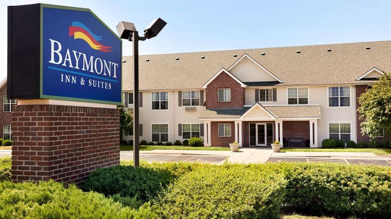 """Baymont Inn  and  Suites Wichita East Exterior. Images powered by <a href=""""http://web.iceportal.com"""" target=""""_blank"""" rel=""""noopener"""">Ice Portal</a>."""