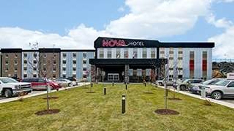 """Chateau Nova Yellowknife Exterior. Images powered by <a href=""""http://web.iceportal.com"""" target=""""_blank"""" rel=""""noopener"""">Ice Portal</a>."""