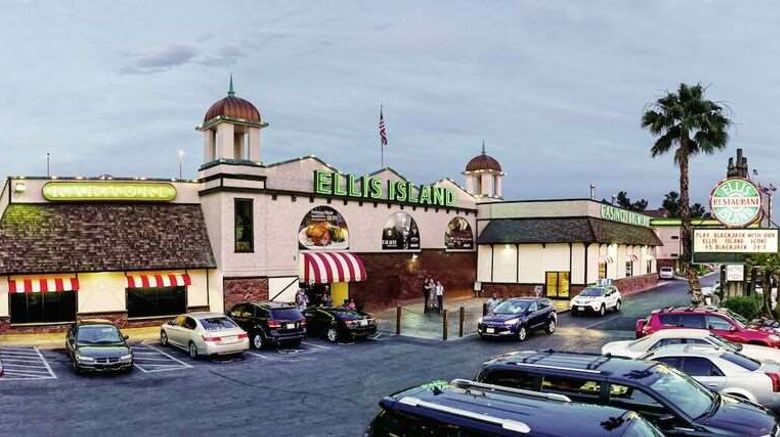 """Ellis Island Hotel  and  Casino Exterior. Images powered by <a href=""""http://web.iceportal.com"""" target=""""_blank"""" rel=""""noopener"""">Ice Portal</a>."""