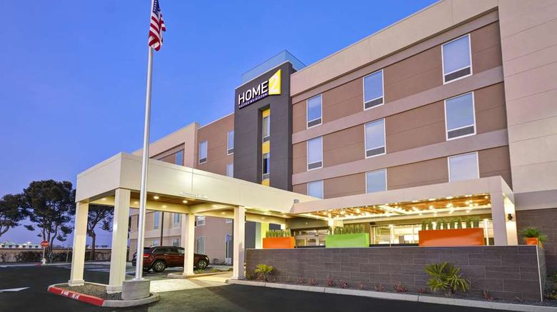 """Home2 Suites by Hilton Hanford Lemoore Exterior. Images powered by <a href=""""http://web.iceportal.com"""" target=""""_blank"""" rel=""""noopener"""">Ice Portal</a>."""