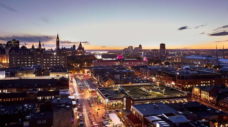 """ANdAZ Ottawa Byward Market Exterior. Images powered by <a href=""""http://web.iceportal.com"""" target=""""_blank"""" rel=""""noopener"""">Ice Portal</a>."""