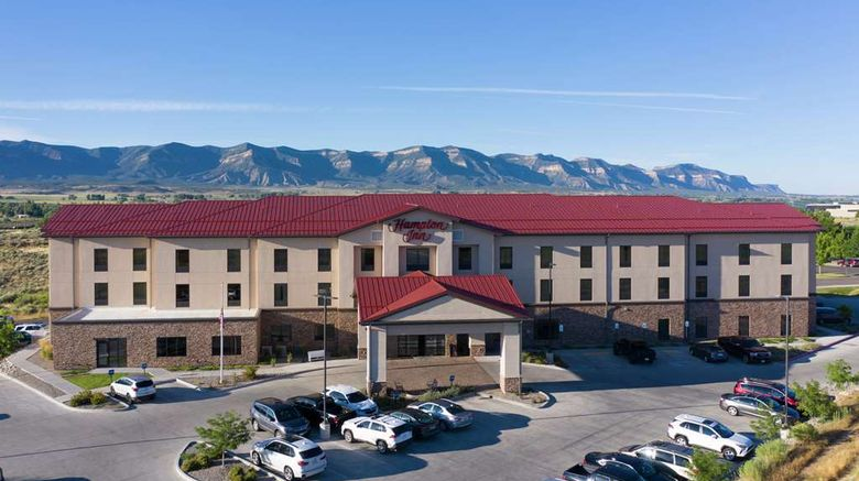 """Hampton Inn Mesa Verde/Cortez Exterior. Images powered by <a href=""""http://web.iceportal.com"""" target=""""_blank"""" rel=""""noopener"""">Ice Portal</a>."""