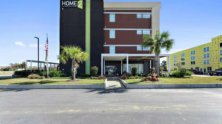 """Home2 Suites by Hilton Gulfport I-10 Exterior. Images powered by <a href=""""http://web.iceportal.com"""" target=""""_blank"""" rel=""""noopener"""">Ice Portal</a>."""