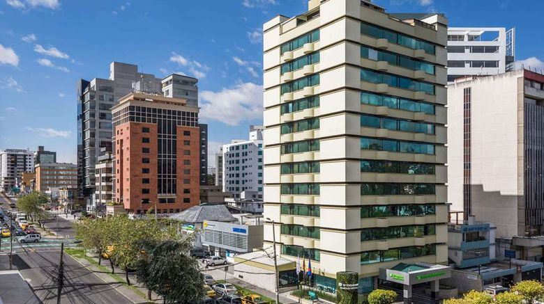"""Wyndham Garden Quito Exterior. Images powered by <a href=""""http://web.iceportal.com"""" target=""""_blank"""" rel=""""noopener"""">Ice Portal</a>."""