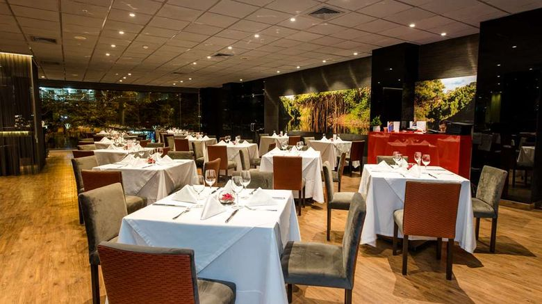"""<b>Wyndham Costa del Sol Pucallpa Restaurant</b>. Images powered by <a href=""""https://iceportal.shijigroup.com/"""" title=""""IcePortal"""" target=""""_blank"""">IcePortal</a>."""