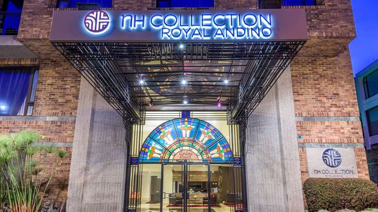 """NH Collection Bogot  Andino Royal Exterior. Images powered by <a href=""""http://web.iceportal.com"""" target=""""_blank"""" rel=""""noopener"""">Ice Portal</a>."""