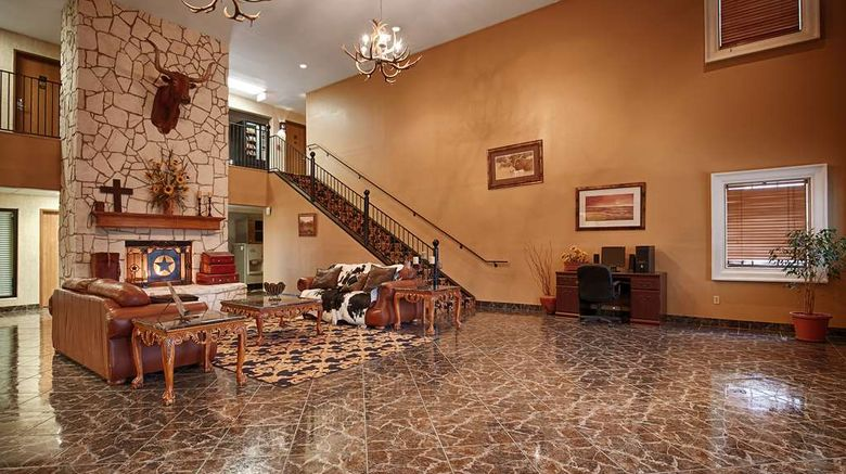 """SureStay Plus Texan Inn Beeville Lobby. Images powered by <a href=""""http://web.iceportal.com"""" target=""""_blank"""" rel=""""noopener"""">Ice Portal</a>."""