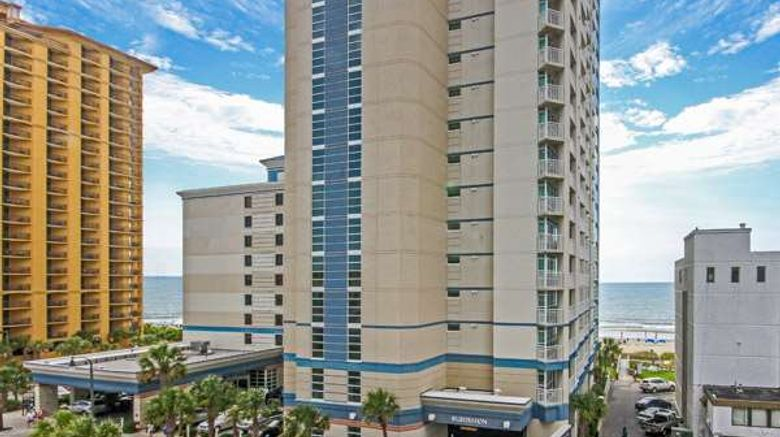 """The Carolinian Beach Resort Exterior. Images powered by <a href=""""http://web.iceportal.com"""" target=""""_blank"""" rel=""""noopener"""">Ice Portal</a>."""