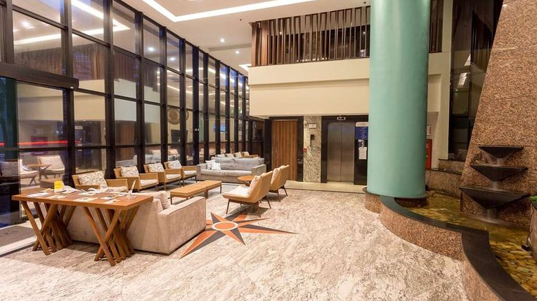 """<b>Brasil Tropical Hotel & Residence Lobby</b>. Images powered by <a href=""""https://iceportal.shijigroup.com/"""" title=""""IcePortal"""" target=""""_blank"""">IcePortal</a>."""