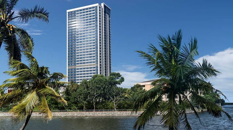 """<b>Shangri-La Hotel, Colombo Exterior</b>. Images powered by <a href=""""https://iceportal.shijigroup.com/"""" title=""""IcePortal"""" target=""""_blank"""">IcePortal</a>."""