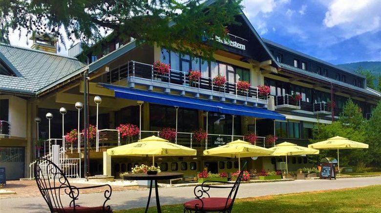 "Best Western Hotel Kranjska Gora Exterior. Images powered by <a href=""http://web.iceportal.com"" target=""_blank"" rel=""noopener"">Ice Portal</a>."
