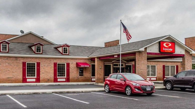 """Econo Lodge Inn  and  Suites Enterprise Exterior. Images powered by <a href=""""http://web.iceportal.com"""" target=""""_blank"""" rel=""""noopener"""">Ice Portal</a>."""