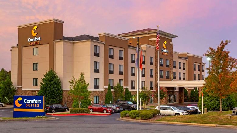 """Comfort Suites Little Rock Exterior. Images powered by <a href=""""http://web.iceportal.com"""" target=""""_blank"""" rel=""""noopener"""">Ice Portal</a>."""