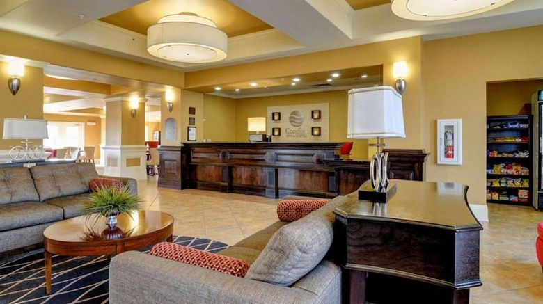 """<b>Comfort Inn & Suites Lobby</b>. Images powered by <a href=""""https://iceportal.shijigroup.com/"""" title=""""IcePortal"""" target=""""_blank"""">IcePortal</a>."""