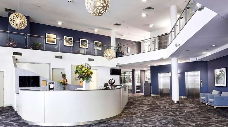 """Quality Hotel Dickson Lobby. Images powered by <a href=""""http://web.iceportal.com"""" target=""""_blank"""" rel=""""noopener"""">Ice Portal</a>."""