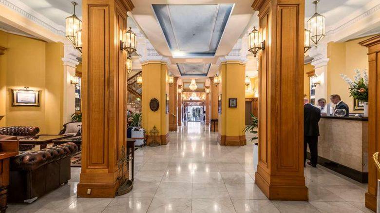 """Castlereagh Boutique Hotel, Ascend Lobby. Images powered by <a href=""""http://web.iceportal.com"""" target=""""_blank"""" rel=""""noopener"""">Ice Portal</a>."""