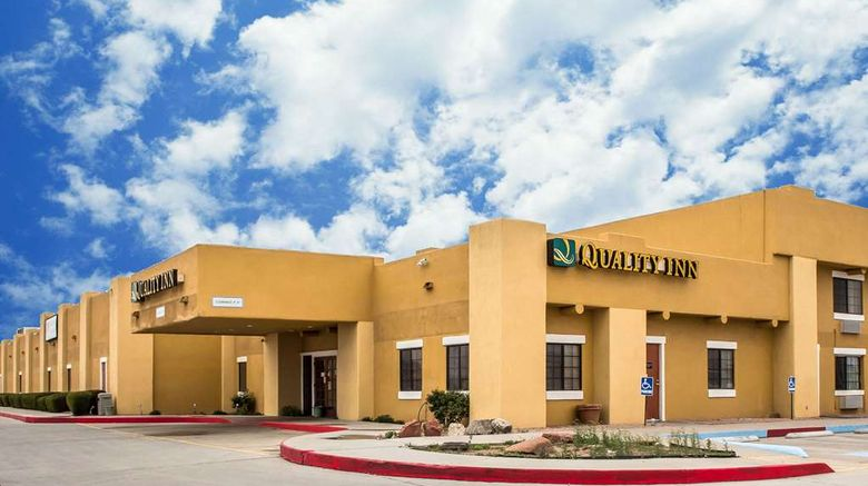 """Quality Inn Winslow Exterior. Images powered by <a href=""""http://web.iceportal.com"""" target=""""_blank"""" rel=""""noopener"""">Ice Portal</a>."""