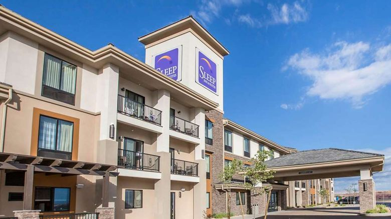 """Sleep Inn  and  Suites Page at Lake Powell Exterior. Images powered by <a href=""""http://web.iceportal.com"""" target=""""_blank"""" rel=""""noopener"""">Ice Portal</a>."""