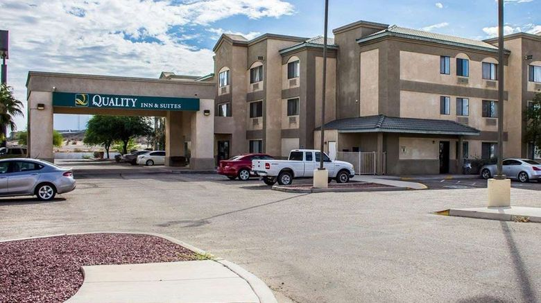 """Quality Inn  and  Suites Yuma Exterior. Images powered by <a href=""""http://web.iceportal.com"""" target=""""_blank"""" rel=""""noopener"""">Ice Portal</a>."""