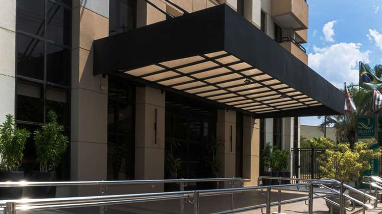 """Quality Hotel Faria Lima Exterior. Images powered by <a href=""""http://web.iceportal.com"""" target=""""_blank"""" rel=""""noopener"""">Ice Portal</a>."""