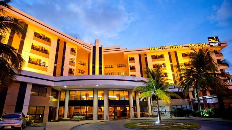 """Quality Hotel Aracaju Exterior. Images powered by <a href=""""http://web.iceportal.com"""" target=""""_blank"""" rel=""""noopener"""">Ice Portal</a>."""