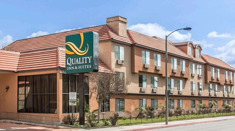 """Quality Inn  and  Suites Bell Gardens Exterior. Images powered by <a href=""""http://web.iceportal.com"""" target=""""_blank"""" rel=""""noopener"""">Ice Portal</a>."""