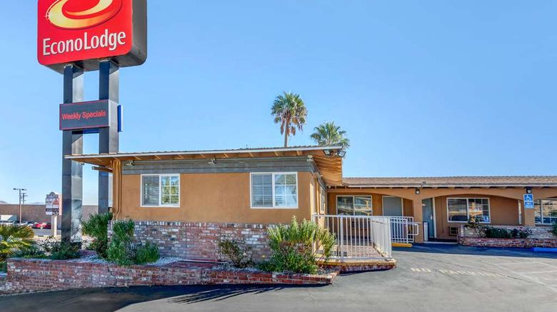 """Econo Lodge Barstow Exterior. Images powered by <a href=""""http://web.iceportal.com"""" target=""""_blank"""" rel=""""noopener"""">Ice Portal</a>."""