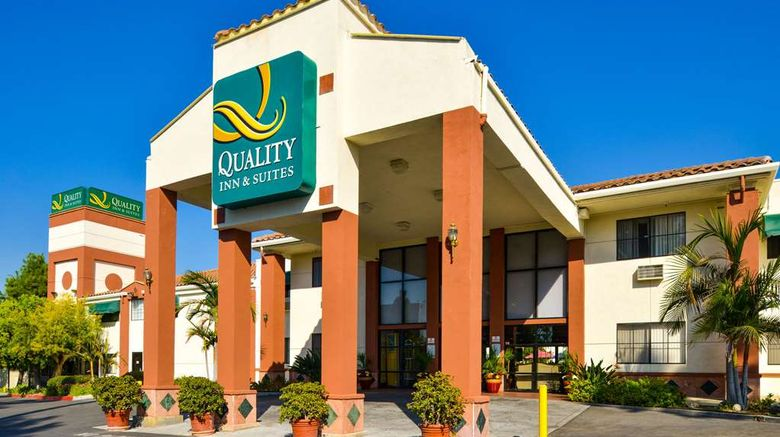 """Quality Inn  and  Suites Walnut Exterior. Images powered by <a href=""""http://web.iceportal.com"""" target=""""_blank"""" rel=""""noopener"""">Ice Portal</a>."""