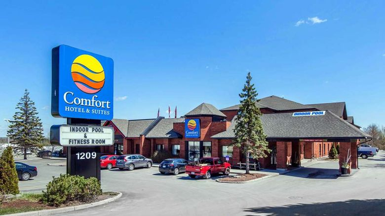 """Comfort Hotel  and  Suites Peterborough Exterior. Images powered by <a href=""""http://web.iceportal.com"""" target=""""_blank"""" rel=""""noopener"""">Ice Portal</a>."""