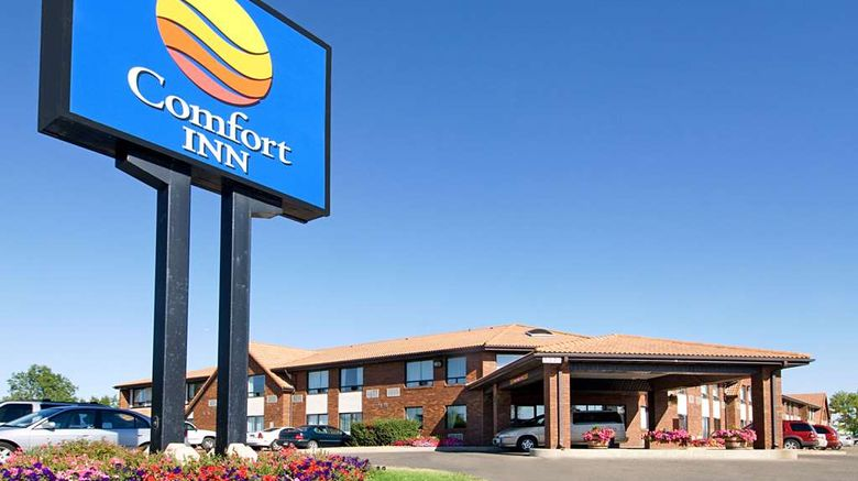 """Comfort Inn Regina Exterior. Images powered by <a href=""""http://web.iceportal.com"""" target=""""_blank"""" rel=""""noopener"""">Ice Portal</a>."""