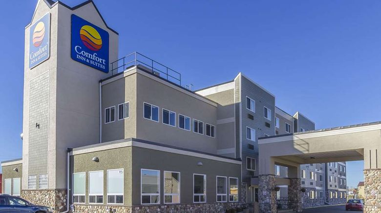 """Comfort Inn  and  Suites Yorkton Exterior. Images powered by <a href=""""http://web.iceportal.com"""" target=""""_blank"""" rel=""""noopener"""">Ice Portal</a>."""