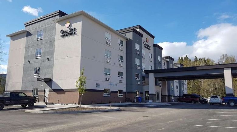 """Comfort Inn  and  Suites Terrace Exterior. Images powered by <a href=""""http://web.iceportal.com"""" target=""""_blank"""" rel=""""noopener"""">Ice Portal</a>."""
