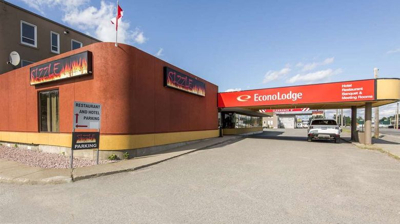 """Econo Lodge Sudbury Exterior. Images powered by <a href=""""http://web.iceportal.com"""" target=""""_blank"""" rel=""""noopener"""">Ice Portal</a>."""