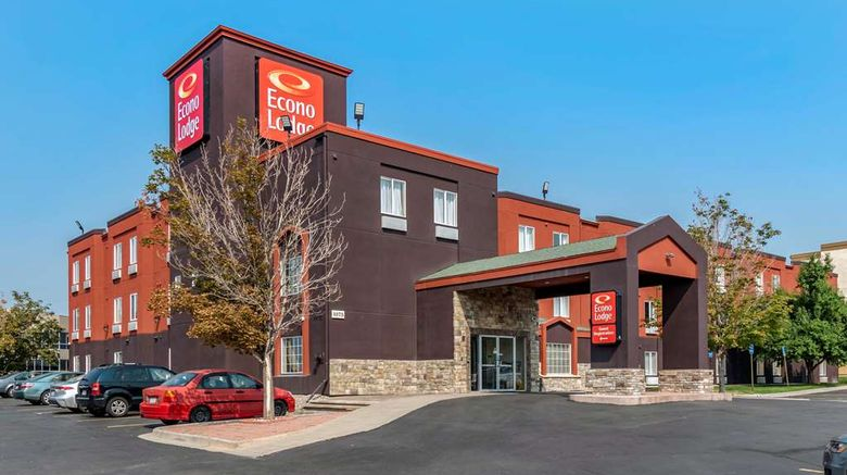 """Econo Lodge North Academy Exterior. Images powered by <a href=""""http://web.iceportal.com"""" target=""""_blank"""" rel=""""noopener"""">Ice Portal</a>."""